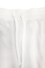 Multi Pocket Jogger - White