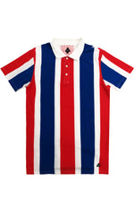 Striped Multi Color Polo – Red/Combo