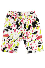 Paint Splatter Short-Dark Tone