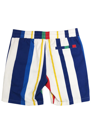 Multi Stripe Short-Blue/Combo