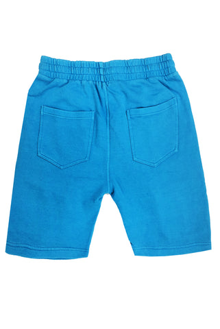 Washed Short-Blue