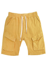 Washed Short-Yellow