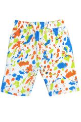 Paint Splatter Short-Multi
