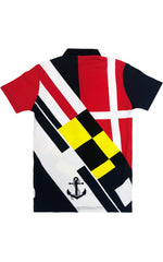 Nautical Polo-Red/Combo