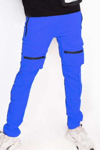 Blue Pockets Jogger
