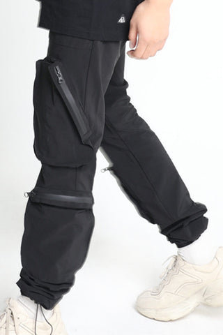 Black Water Zip Jogger