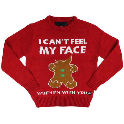 I Cant Feel My Face Sweater