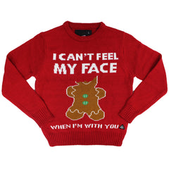 I Cant Feel My Face Sweater - American Stitch