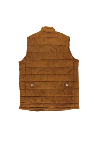Brown Suede Vest - American Stitch
