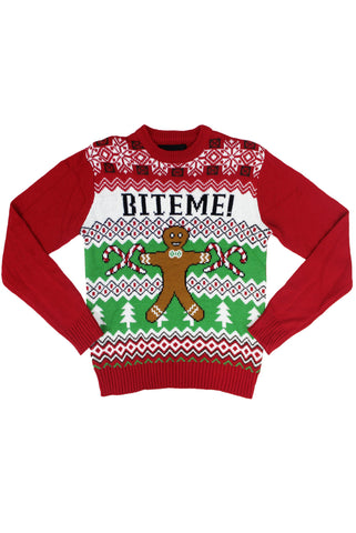 Bite Me Christmas Sweater - American Stitch