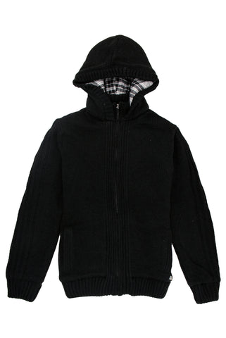 Black Zip Knit - American Stitch
