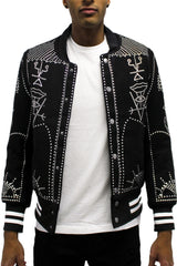 Studded Tribal Jacket