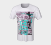 Graffiti Alley Unisex T-Shirt Teal