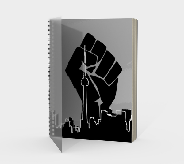 Black Lives Matter Spiral Notebook