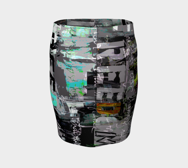 Freedom Graffiti Art Skirt