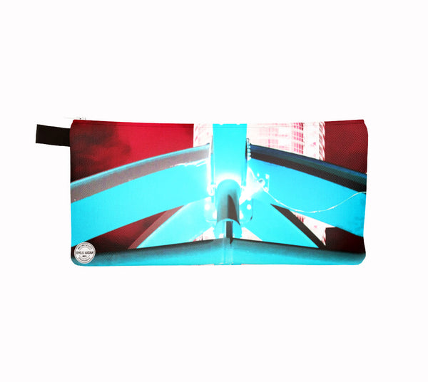 City Place Clutch Red