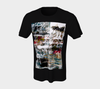 Graffiti Alley Unisex T-Shirt Denim