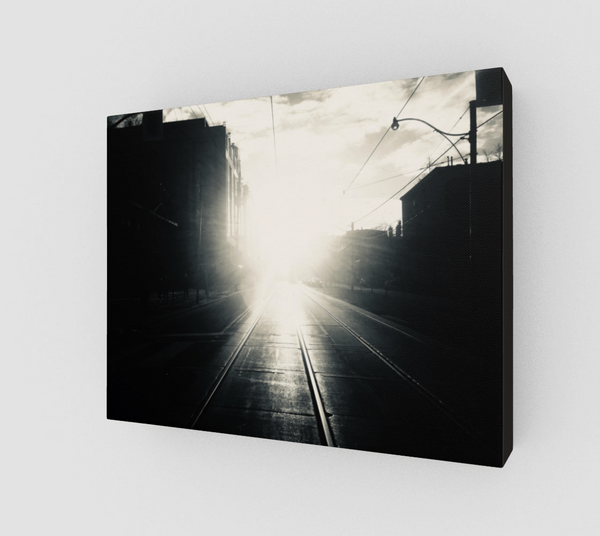 King Street Tunnel Vision Work Canvas Print