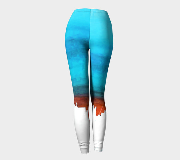 Toronto CN Tower Sunset Leggings