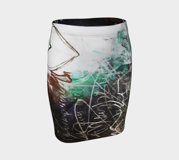 Cabbagetown Fitted Skirt