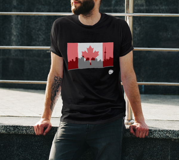 Canada Day Unisex T-Shirt Red