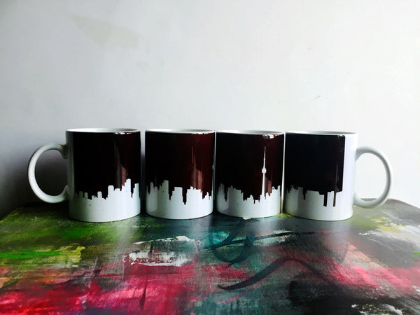 Toronto Mugs Set of 2