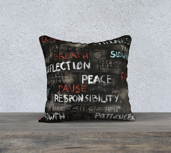 Covid Commemorative Pillow