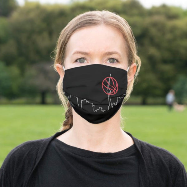 Toronto Basketball Face Mask