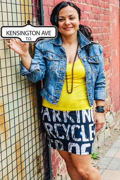 Kensington Avenue Fitted Skirt