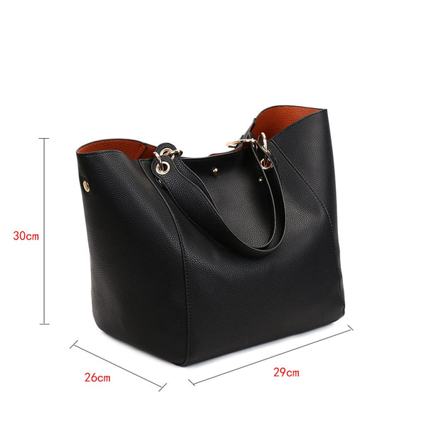 Women's Luxury Vintage Tote Handbag - 12 Colours