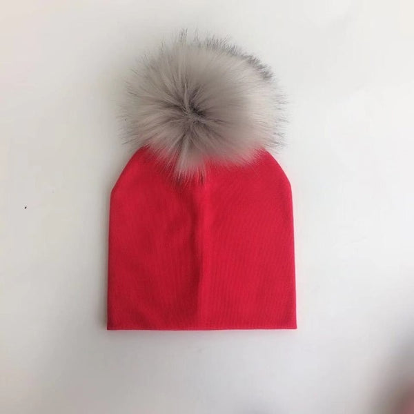 Pom Pom Hats for Babies and Kids