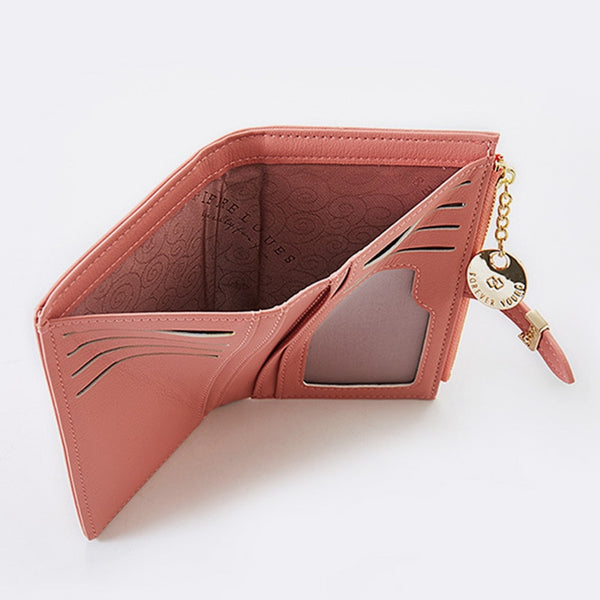 Women's Luxury Leather Wallet Clutch -7 Colours