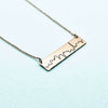 Toronto Skyline Necklace- Rose Gold