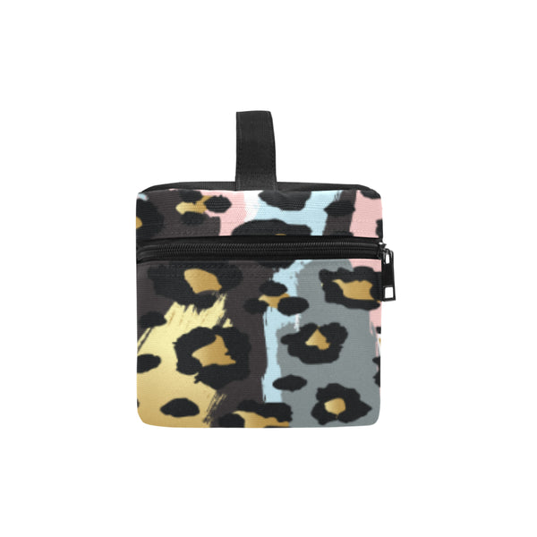 Personalized Rectangular Lunch Bag Pastel Animal Print - Biglove
