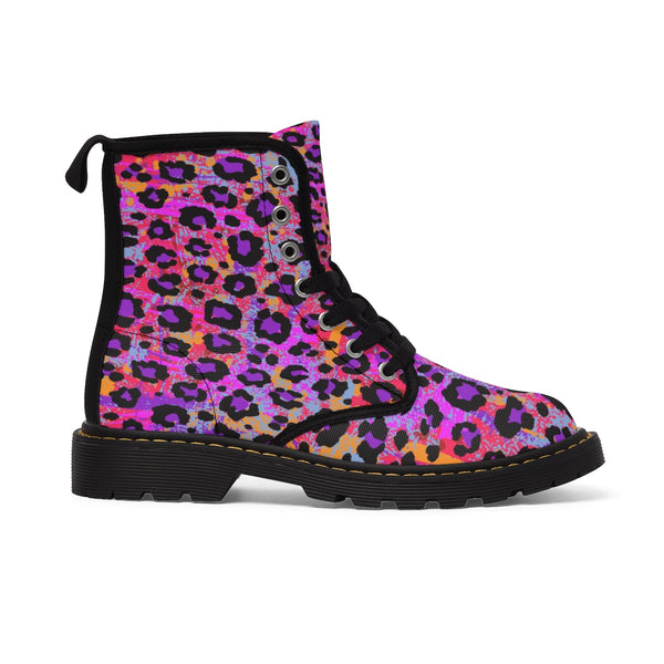 Wild Animal Print Kids' Boots - biglove