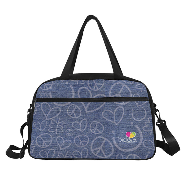 Personalized Fitness Handbag Denim