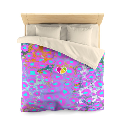 Sweet Animal Print Microfiber Duvet Cover - biglove