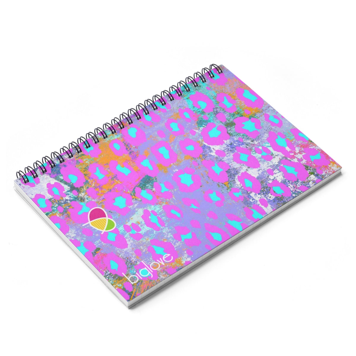 Spiral Notebook - Ruled Line - Biglove