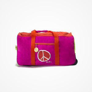 Rolling Duffel Bag for Girls - biglove
