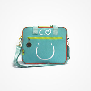 Messenger Bag Happiness & Freedom - biglove