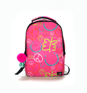 "Big Backpack for Girls Pink 18"" - biglove"