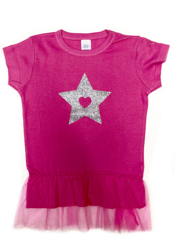 Short Sleeve T-Shirt With Tutu - biglove
