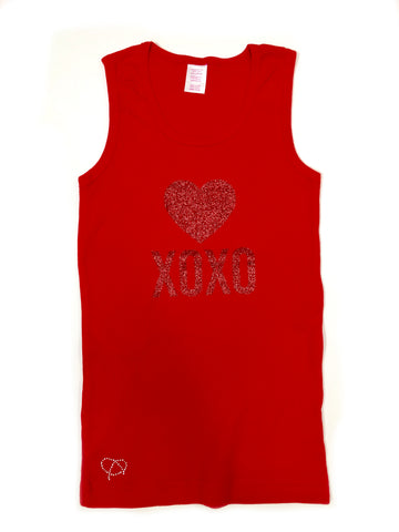 Girls Sleeveless T-Shirt - biglove