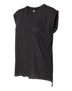 Muscle Tee Shirt For Women - Black