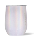 Personalized 12 oz Triple-Insulated Stemless Glass (Perfect for Wine) - Unicorn Magic