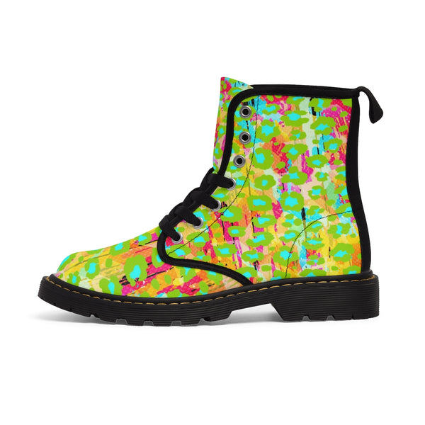 Happy Animal Print Kids' Boots - biglove