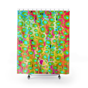 Happy Animal Print Shower Curtains - biglove