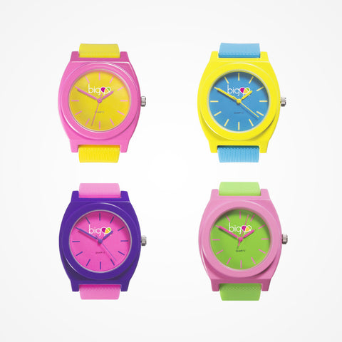 Colorful Watches for Girls - Biglove