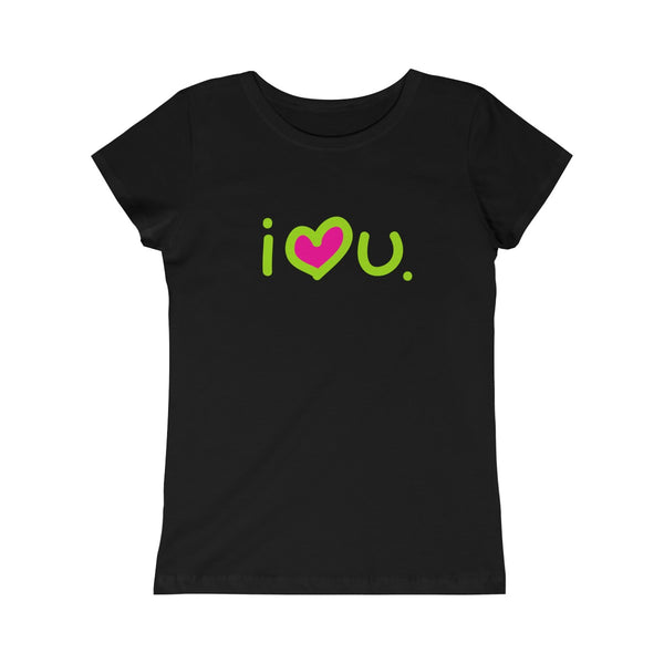 I Love You Girls Princess Tee - biglove