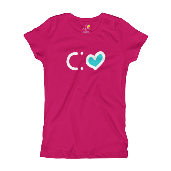 Happiness T-Shirt for Girls - biglove